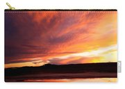 Reflections Of Red Sky Carry-all Pouch