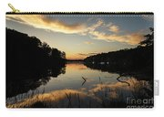 Reflections Of Sailboat Cove Carry-all Pouch