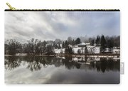 Reflections Of Winter Flood Carry-all Pouch