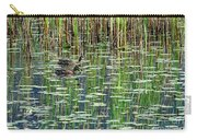 Reflections On Duck Pond Carry-all Pouch