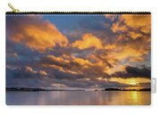 Reflections On Fire Sunset Carry-all Pouch