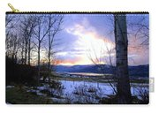 Reflections On Lake Okanagan Carry-all Pouch