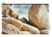Reflective Joshua Tree Rocks Carry-all Pouch