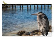 Regal Great Blue Heron Carry-all Pouch
