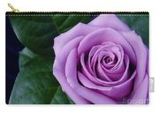 Regal Rose I Purple Rose Carry-all Pouch