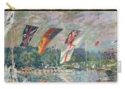 Regatta At Molesey Carry-all Pouch by Alfred Sisley