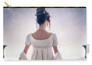 Regency Woman Looking At The Stars In The Night Sky  Carry-all Pouch