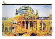 Reichstag And Flower Carry-all Pouch
