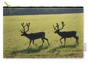 Reindeers On Swedish Fjeld Carry-all Pouch