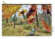 Relax And Watch The Leaves Turn Carry-all Pouch