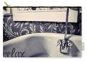 Relax In Blue Carry-all Pouch
