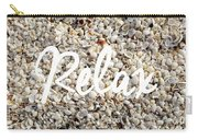 Relax Seashell Background Carry-all Pouch