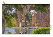 Relaxing At The Palace Carry-all Pouch by Kate Brown
