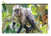 Relaxing Capuchin Monkey Carry-all Pouch
