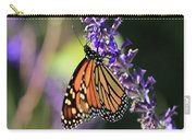Relaxing Monarch Butterfly Carry-all Pouch