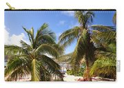 Relaxing On The Beach. Pinel Island Saint Martin Caribbean Carry-all Pouch