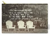 Relaxing On The Cape Quote Carry-all Pouch