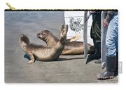 Releasing Elephant Seals Carry-all Pouch