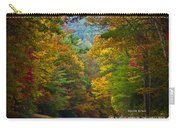 Relief Road  Blue Ridge Parkway Carry-all Pouch by John Haldane