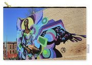 Reloaded Or Education Is A Powerful Weapon Mural -- 2 Carry-all Pouch
