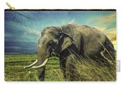 Remember Elephant Carry-all Pouch