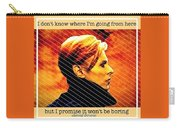 Remembering David Bowie Carry-all Pouch