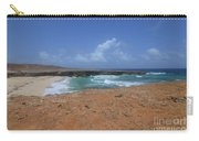 Remote Daimari Beach With Waves Rolling Ashore Carry-all Pouch