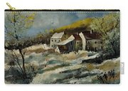Remote Houses In The Ardennes  Carry-all Pouch
