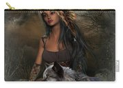 Rena Indian Warrior Princess Carry-all Pouch