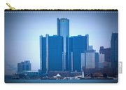 Gm Renaissance Center In Downtown Detroit, Michigan Carry-all Pouch