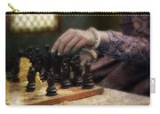 Renaissance Lady Playing Chess Carry-all Pouch