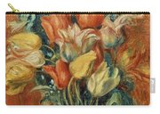 Renoir: Bouquet Of Tulips Carry-all Pouch by Granger