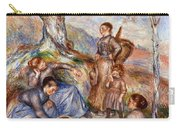 Renoir: Grape Pickers Carry-all Pouch