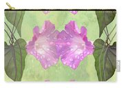 Repeated Morning Glories Carry-all Pouch