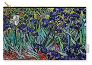 replica of Van Gogh irises Carry-all Pouch