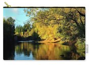 Yamhill River Reflections Carry-all Pouch