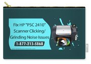 Resolve Hp Psc 2410 Scanner Clicking Grinding Noise Issues Carry-all Pouch