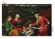 Rest On The Flight Into Egypt Carry-all Pouch