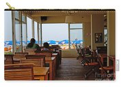 Restaurant On A Beach In Tel Aviv Israel Carry-all Pouch