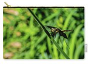 Resting Alert Dragonfly Carry-all Pouch