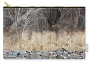 Resting Canadian Geese Carry-all Pouch