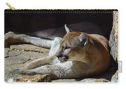 Resting Cougar Carry-all Pouch