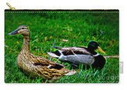 Resting Ducks Carry-all Pouch