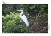 Resting Egret Carry-all Pouch
