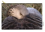 Resting Goose Carry-all Pouch