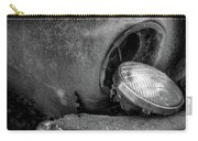 Resting Headlight Of Rusty Car Carry-all Pouch by Dennis Dame