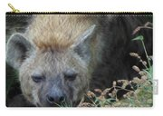 Resting Hyena Carry-all Pouch