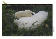Resting Swan Carry-all Pouch