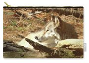 Resting Wolf Carry-all Pouch