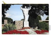 Resurrection Of Jesus Statue Carry-all Pouch by Rose Santuci-Sofranko